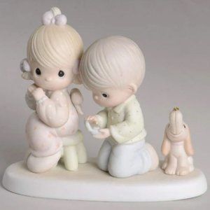Precious Moments With This Ring I Porcelain Figure